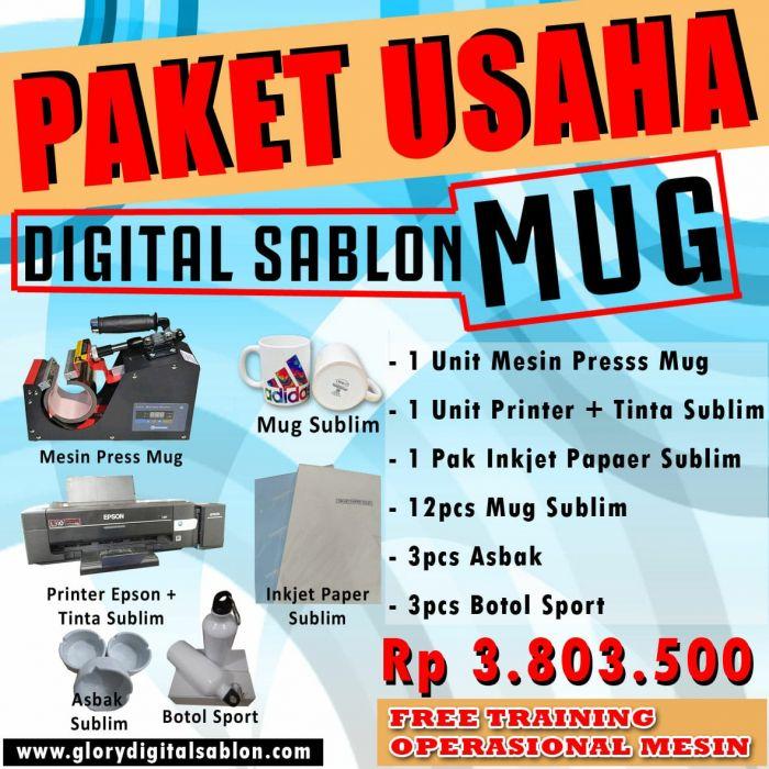 PAKET DIGITAL SABLON MUG