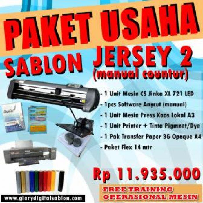 PAKET SABLON JERSEY 2 (Manual Contour)