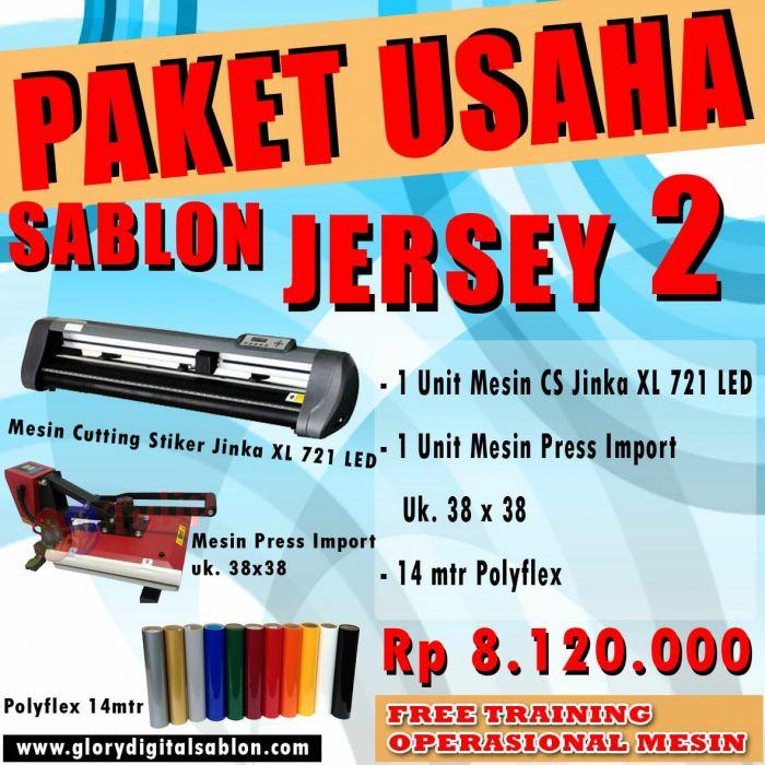 PAKET SABLON JERSEY 2